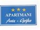 Apartmani Ante Gojko